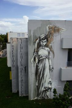 """Marauders"" New Street Art Mural By Faith47 For Los Muros Hablan '13 In Puerto Rico. 2"
