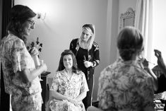 Getting their hair and makeup done. A real wedding by Couple Photography Wedding Ceremony, Wedding Day, Magical Wedding, Sunset Photos, Down Hairstyles, Looking Stunning, House Party, Couple Photography