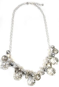 2lisasboutique - Pearl and Crystals Necklace, $30.00 (http://www.2lisasboutique.com/pearl-and-crystals-necklace/)