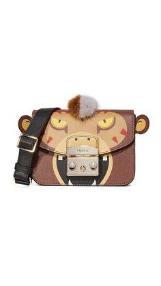 Furla Metropolis Jungle Mini Cross Body Bag In Glace. Mini Crossbody Bag, Mini Purse, Crossbody Shoulder Bag, Tumi, Kendall And Kylie, Cambridge Satchel, Zac Posen, Cynthia Rowley, Herschel