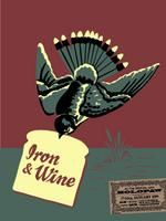 Iron And Wine Poster - The Social, Orlando - Thomas Scott