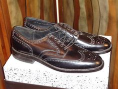 Vintage original Johnston & Murphy wing tip by Simplemiles on Etsy, $170.00