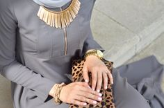Eid Inspiration: Silver + Gold Ft. Inayah Collection