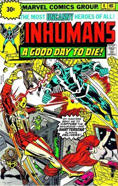 Inhumans # 4 by Rich Buckler & Frank Giacoia