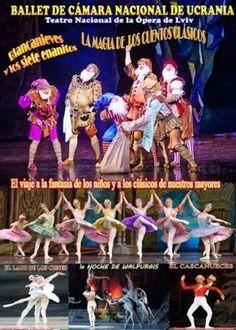 La magia de los cuentos en Auditorio Municipal, Ourense Ballet de Cámara Nacional de Ucrania danza baile infantil escea escena