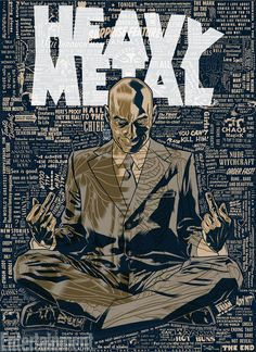 Grant Morrison named EIC of Heavy Metal which has always been a little bit dirty. Next year, it'll get positively Filthy.