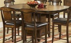 Homelegance Westwood 7 Piece Counter Height Dining Room Set -- Check this awesome product by going to the link at the image.Note:It is affiliate link to Amazon.
