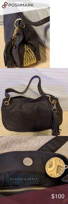 NWOT -STELLA   JAMIE STUDDED HOBO BAG NWOT - STELLA   JAMIE STUDDED HOBO SHOULDER  BAG. Stella   Jamie Vegan Leather stuffed bag. 274ee6f5e3b12