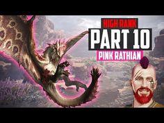 HIGH RANK Monster Hunter World | Part 10 - HUNTING A PINK RATHIAN! | MH World PS4 Gameplay