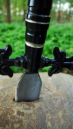 Awesome Sword in the Stone geocache in the Netherlands! Kind of makes want to geocache.
