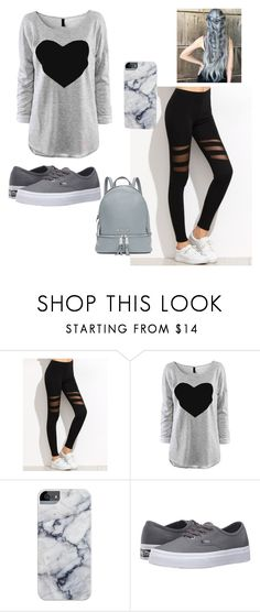 """Untitled #72"" by ariatna14 ❤ liked on Polyvore featuring Vans and MICHAEL Michael Kors"
