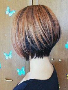 Simple Short Hairstyles Trends 2018 with Color Shades