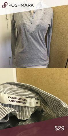 Comptoir Des cotonniers top Great condition. Layer combo. Open to sensible offers comptoir des cotonniers Tops Button Down Shirts