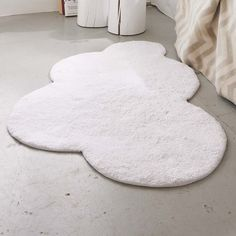 Cloud mat...could probably make with fleece and rubber backing