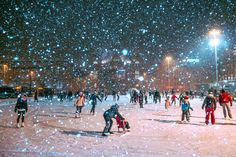 Ice skating at Railway Square in Helsinki. To discover all the fun family activities you can do in the Finnish capital, check out our website http://www.suitcasesandstrollers.com/interviews/view/finland-with-kids-helsinki-insider?l=all #GoogleUs #suitcasesandstrollers #travel #travelwithkids #familytravel #familytraveltips #helsinki #finland #thisisfinland #snow #snowplay #letitsnow #frozen #winterwonderland @littletravellerthings