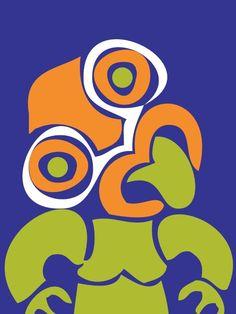 nzcanvaslounge - TIKI POP ART Maori Designs, Nz Art, Maori Art, Kiwiana, Elementary Art, Fun Learning, Preschool Activities, Framed Artwork, Design Elements