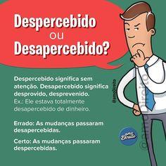 """950 curtidas, 12 comentários - amo Direito® (@amodireito) no Instagram: """"🙌😁 Ótima dica de português para marcar os amigos e nunca mais errar! ___ Siga-nos nas redes: 🅿️…"""""""