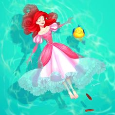 disney princess PONZU x PONZU makes some of the most beautiful fanart Disney Princess Fashion, Disney Princess Drawings, Disney Princess Art, Disney Fan Art, Disney Drawings, Mermaid Princess, Princess Castle, Princess Luna, Disney Kunst