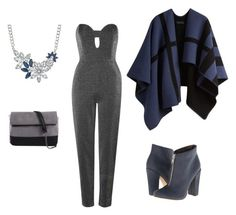 """""""Untitled #309"""" by sikarjazmin on Polyvore featuring Burberry, Topshop, Michael Antonio and 7 Chi"""