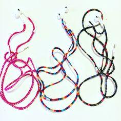 Crochet Apple EarPods hækle