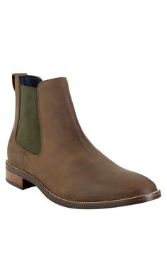 Cole Haan 'Lenox Hill' Chelsea Boot Copper H2O Resist