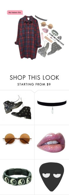 """Video suggestion (Rtd)"" by fangirl-trash ❤ liked on Polyvore featuring Yves Saint Laurent, Retrò and Monki"