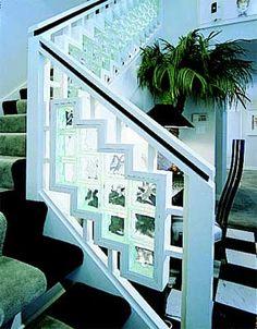 Glass Block Shower, Glass Blocks Wall, Banisters, Railings, Glass Brick, Home Fix, Brick Design, Stairways, Home Remodeling
