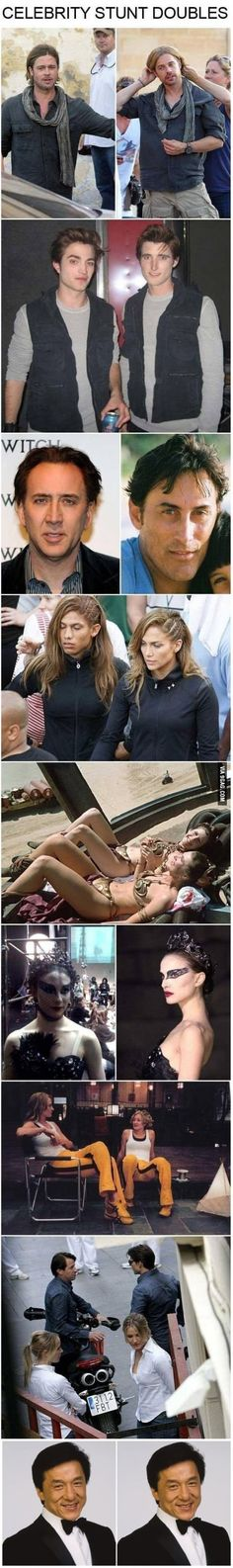 Celebrity Stunt Doubles #celebrities #movie