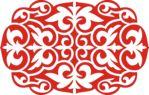 Мобильный LiveInternet Казахский орнамент. Шаблоны. Орнамент ромб из 4-х сегментов. | ЕлеНик - Ник...ляндия |