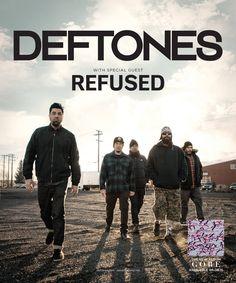 GoRockfest.Com: Deftones Tour Dates 2016