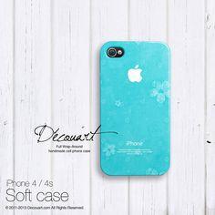 Tiffany iPhone 5 case iPhone 4 case iPhone 3 case by Decouart, $23.99