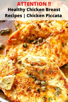 Summer Dinner Ideas |Healthy Chicken Breast Recipes : Chicken Piccata Best Healthy Dinner Recipes, Chicken Breast Recipes Healthy, Healthy Chicken, Chicken Recipes, Chicken Piccata, Dinner Ideas, Stuffed Peppers, Cooking, Summer