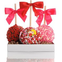 Gourmet Caramel Apples | Petite Valentine Caramel Chocolate Gourmet Apple Trio | Flickr - Photo ...