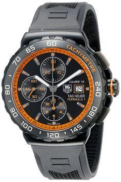 TAG Heuer Men's THCAU2012FT6038 Formula 1 Analog Display Swiss Automatic Black Watch