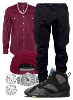 """""""YG- I'ma Real 1"""" by young-rich-nvgga ❤ liked on Polyvore featuring Topman, H&M, Julius, NIKE, Rolex, David Yurman, Asprey, men's fashion and menswear"""