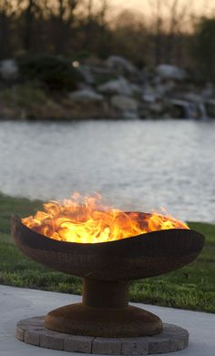 Sand Dune Gas Fire Pit | Fire Pits & Outdoor Heating, for those cool evenings in the west!