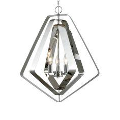 // Lighting House™ Pentagon, Pendant Lights, Ceiling Lights, Lighting, Silver, Hanging Lights, Hanging Pendants, Lights, Outdoor Ceiling Lights