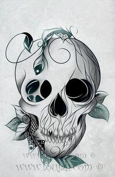 LouJah - Skull Boho