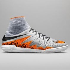 Sports brand Nike has fused its Flyknit technology with a protective mesh to update the Hypervenom football boot and to create a new version for street use