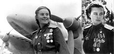 Soviet Women Pilots.  In WWII only the Soviet air force put women in combat. If they fell into German hands the consequences were too awful to think about.