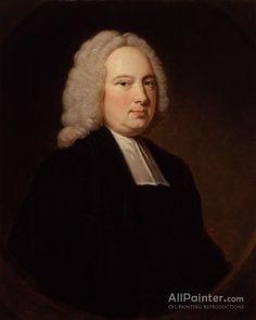 Thomas Hudson,Portrait Of James Bradley(1693-1762) oil painting reproductions for sale