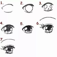 How to draw Manga eyes. It is for those who love to draw manga. 🙂 How to draw Manga. Drawing Cartoon Faces, Manga Drawing, Art Deco Typography, Wie Zeichnet Man Manga, Winter Art Projects, Sketches Tutorial, Cat Dog, Anime Eyes, Manga Illustration