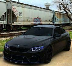 BMW F82 M4 matte black