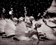Korean National Ballet's Snow Scene in The Nutcracker, by yoon6photo Ballet Beautiful   ZsaZsa Bellagio - Like No Other