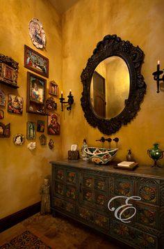 Hacienda bathroom