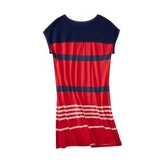 Jason Wu for Target - Jersey Dress in Red/Navy Stripes