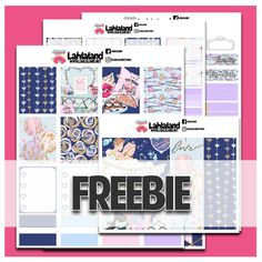 FREE Valentine's Day Printable Kit, Join our Lahlaland VIP Facebook Group for freebies, sneakpeeks and more!