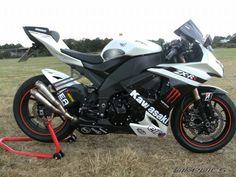 Kawasaki Motorcycles, Cars And Motorcycles, Ninja Bike, Kawasaki Zx10r, Honda Cbr 600, Quad Bike, Sportbikes, Biker Chick, Kawasaki Ninja