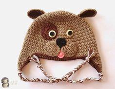 Gorritos a crochet con patrón