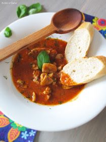 Łyżka w Garze: Gęsta zupa a'la strogonow Polish Recipes, Polish Food, Indian Food Recipes, Ethnic Recipes, Tasty, Yummy Food, Home Food, Dinner Tonight, Soups And Stews